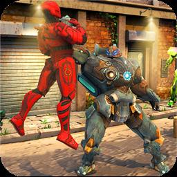 Robot Street Fighting War: Kung Fu Steel Champions