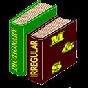 دیکشنری دو لبه + دیکشنری افعال بی قاعده