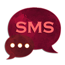 Theme Red GO SMS Pro