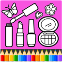 Beauty Coloring Book : Fashion Coloring Games