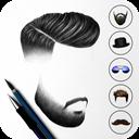 Man Hair Style ,Mustache - Man Photo Editor