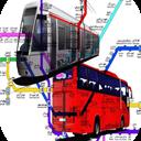 نقشه مترو تهران و کرج (جدید) + بی ار تی brt