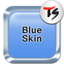 Blue Skin for TS Keyboard