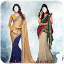 Designer Saree Photo Suit