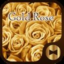 Luxury Wallpaper Gold Rose Theme