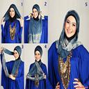 آموزش بستن انواع شال و روسری